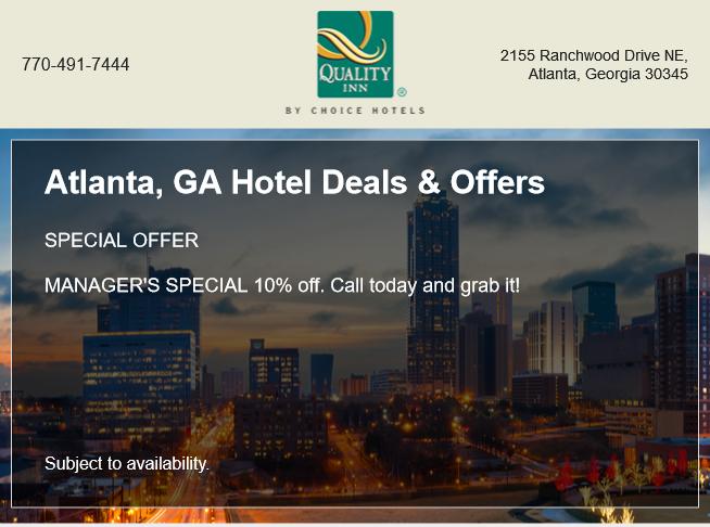 Atlanta Special Offer